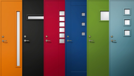Moderna ytterdörrar