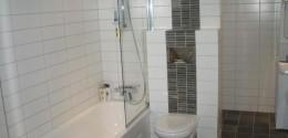 nyrenoverat badrum