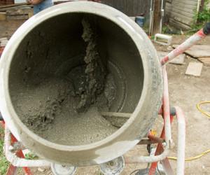 blanda betong i tombola
